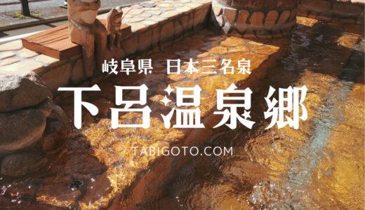 【岐阜県 下呂温泉観光】日本屈指の温泉地【美肌の湯】